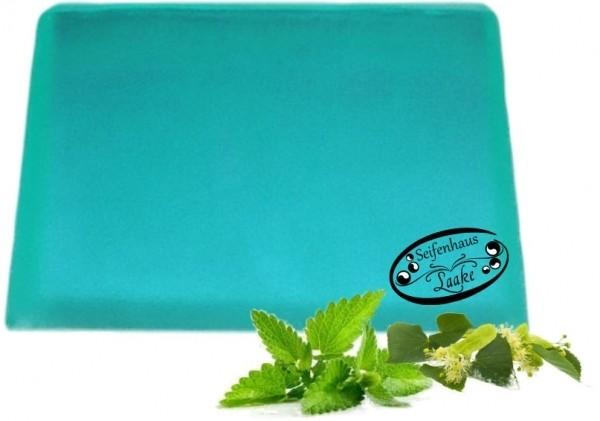 Festes Shampoo Peppermint mit Minze und Teebaumöl für frisches Haar handgemachte Haarseife Vegan